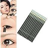 LHWY 12Pcs/Conjunto de Marca Impermeable Líquido Eye Liner Negro lápiz Maquillaje Delineadores de Ojos