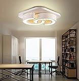 Ameride LED Wandleuchte Deckenleuchte für Kinder US-6817-24WW Weiß 1920Lumen (450x450x100mm) [Energieklasse A++]