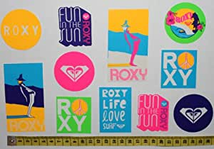 Pack of 11 Roxy Surf Stickers