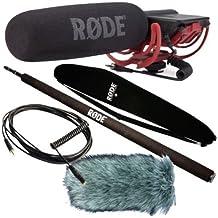 Rode VideoMic Rycote - Set de micrófono (incluye protección antiviento, pértiga, cable VC1 y bolsa)