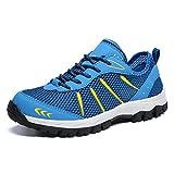 Gaatpot Scarpe da Uomo da Trekking Basse da Escursionismo Casual Sneakers Running Outdoor Respirabile Mesh Scarpe da Corsa Suola Antiscivolo 39-48