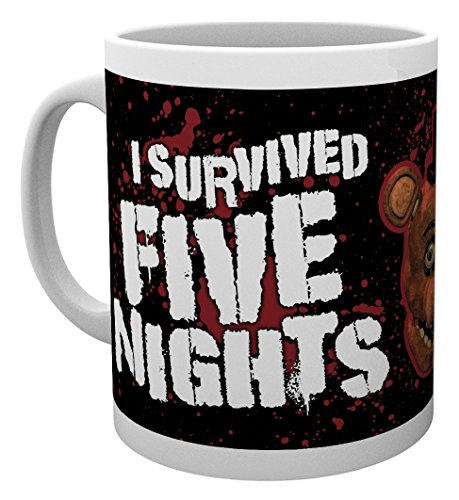 GB Eye LTD, Five Nights at Freddys, I Survived, Mug