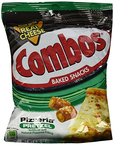 Combos Pizzeria Pretzel Baked Snacks 6.30 oz by Combos