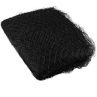ETSAMOR Anti-Bird Netting Pulluo Black Mesh Fence Netting Nylon Fruit Tree Netting for Garden Fruit Crop Pond Poultry Cover Protection 3.5 × 7 m