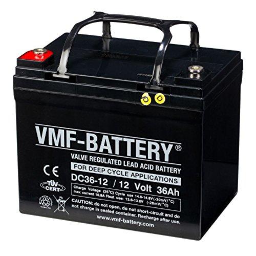 VMF DC36-12 Batteria AGM a ciclo 12 V 36 Ah