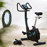 CAPITAL SPORTS Durate X77 Cardiobike Heimtrainer Fitnessbike Ergometer (Trainingscomputer mit LCD-Display, Trainingsprogramme: H.R.C.; T.H.R.; Körperfett, 9 feste Programme, belastbar bis 100 kg) schwarz oder silber - 4