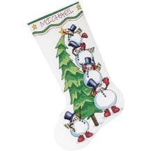 Dimensions - Kit de cuadro de punto de cruz, diseño de árbol de Navidad