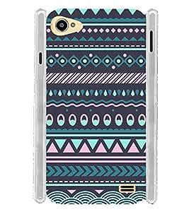 Ethinic Purple Pattern India Soft Silicon Rubberized Back Case Cover for Intex Aqua Star 2 :: Intex Aqua Star II 16GB