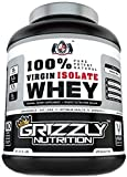 #2: Grizzly Nutrition 100% Virgin Whey Isolate Protein 28G Protein/Serving 2Lb - 900 Gram - Unflavored