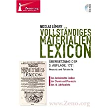 Zeno.org 013 Lemery: Vollständiges Materialien-Lexicon
