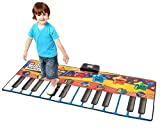 YIMAN™ Electronic Musical Large Playmat Non-slip Fitness Pad Dance Mat Musical Play Mat Toy(Piano Style)