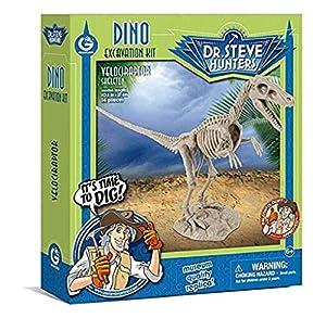 Geoworld - Velociraptor Skeleton, Figura (DeQUBE Trading S.L. CL1664K)