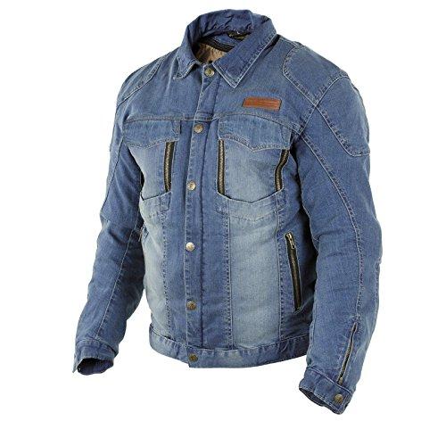 Trilobite PARADO Herren Jeans Jacke Motorrad Aramid Forcefield Protektoren Schutz, 3096104, Größe 3XL