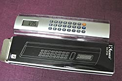 Art box RULER SCALE cum CALCULATOR 8 inches for school and office purpose.