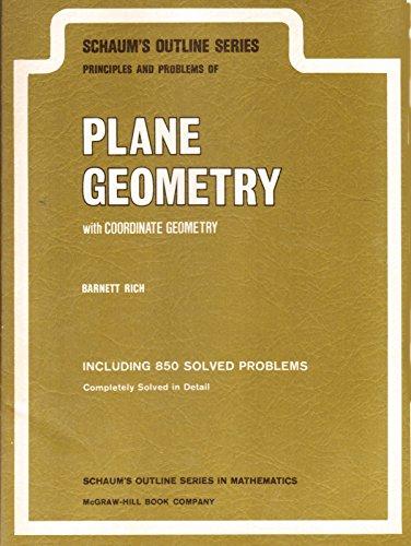 Plane Geometry (Schaum's Outline Series)
