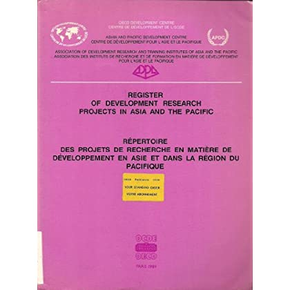 Register of Development Research Projects in Asia and the Pacific