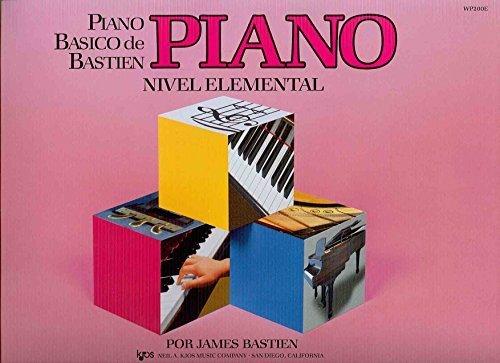 BASTIEN - Metodo Nivel Elemental para Piano por BASTIEN