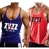 Alivebody Herren Bodybuilding Tank Top Sport Weste Gym Sleeveless Muskelshirt