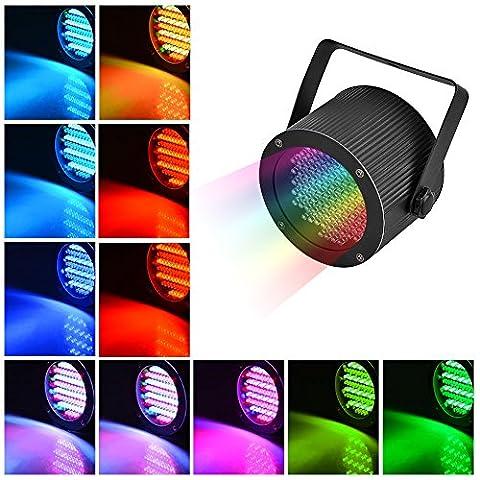 LianLe Bühnenbeleuchtung 86 LED RGB Party Lichter, Bühnen Beleuchtung Projektor Par Lichter für Party Disco Show Pub KTV Dj Licht
