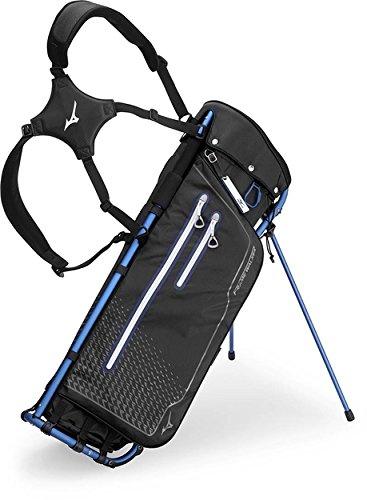 Mizuno Rahmen Walker Golf Stand Bag Einheitsgröße Schwarz