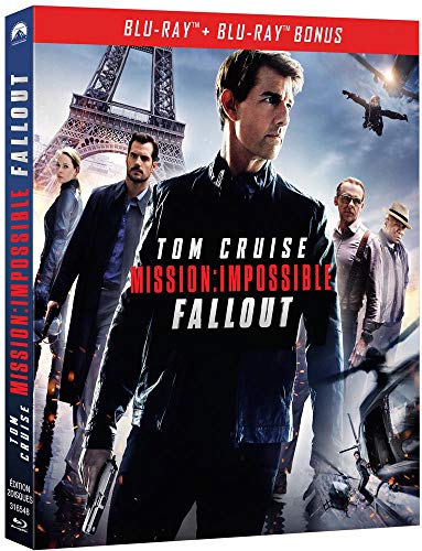 Mission : Impossible-Fallout Blu-Ray Bonus