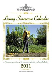 Luxury Scarecrow Calendar 2011: A Humorous Appreciation of 12 Unique Scarecrows Captured in a Luxury Calendar by David Boxshall (2010-11-22)