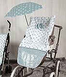 Babyline Carrusel - Funda de silla de paseo, color verde