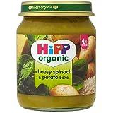 Hipp Organique Ringard Épinards Et Pommes De Terre Cuire 4 + Mois 125G - Lot De 2