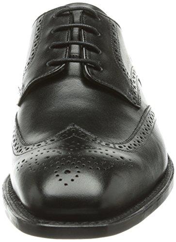 J.briggs Goodyear Iii, Richelieu Homme Noir (Schwarz (schwarz 001))