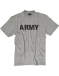 """T-Shirt bedruckt """"ARMY"""" grau"""