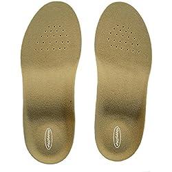 HappyStep® Plantillas ortopédicas, las mejores plantillas para caminar, con absorción de impactos en el talón y la base de los dedos para proporcionar la máxima amortiguación a cada paso (Talla S: 36-38 UE)