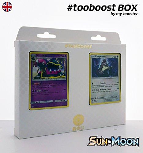 Box #tooboost ALOLAN MUK (Alola Sleimok) und KANGASKHAN (Kangama) - Sun and Moon - 10 English Karten Pokemon
