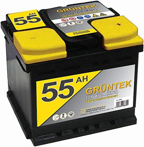 Gruntek L1 Batteria Auto 55AH 480A 12V