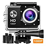 #7: Zaptin 1080P Action Full HD Waterproof Underwater Camera
