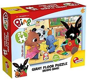 Lisciani Giochi 75805 Bing Giant Floor 24 Bravo Bing