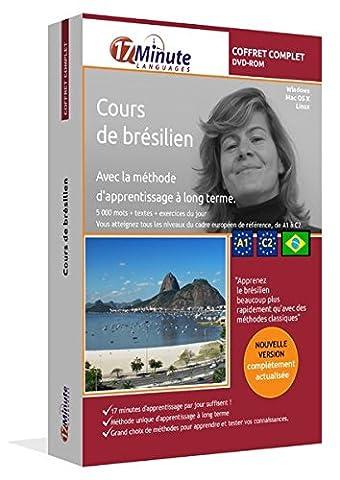 Cours de brésilien : coffret complet (A1-C2). Logiciel pour Windows/Linux/Mac