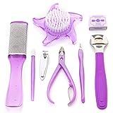 Foolzy Purple Manicure Pedicure Set kit ...