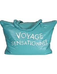 Caroline Lisfranc - Sac voyage sensationnel vert canard