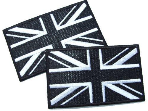 union-jack-bandera-en-blanco-y-negro-hierro-en-parche-con-efecto-optico-de-lock-stitch-2-off