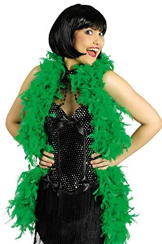 narrenkiste K50776005-A grün Damen Boa - Kabarett Kostüm Bilder