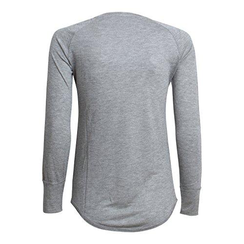 IHEART - Sweat-shirt - Femme multicolore Mehrfarbig Taille unique Silver Melange