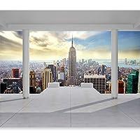 NEW YORK CITY Photo Wallpaper Wall Mural Non-Woven//Self-Adhesive c-C-0002-a-a