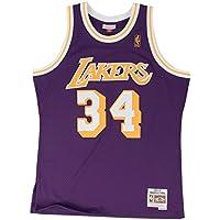 new styles 7859e de97c Mitchell   Ness Shaq O Neal  34 Los Angeles Lakers 1996-97 Swingman