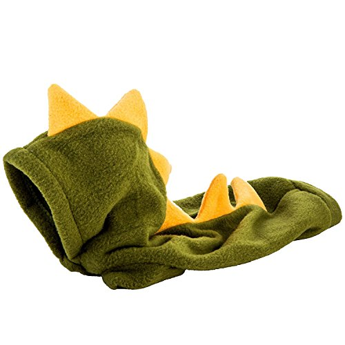 Animally® Hunde Dino Kostüm - Dinosaurier Halloween Karneval Kostüm - Warmer Pullover Hoodie (M, (Kostüme Hund Dinosaurier)