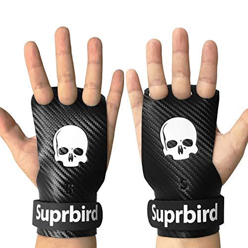 SUPRBIRD Calleras para Crossfit - Hand Grips, Gymnastics Grips, Calisthenics y Gimnasia - Protección para Tus Manos - Guantes Gimnasio