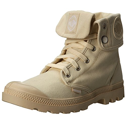 Palladium Baggy, Hohe Sneakers Femme, Beige Marron