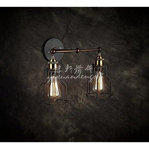 XiangMing Rasoio industriali , luci di testa doppia gabbia (round ? telaio