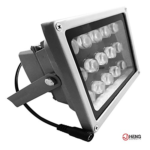 JC IR Illuminator Wide Angle Long Range 230 Feet 15pcs LED Array Lights