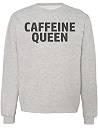Caffeine Queen. Coffee Lover Sudadera Unisex