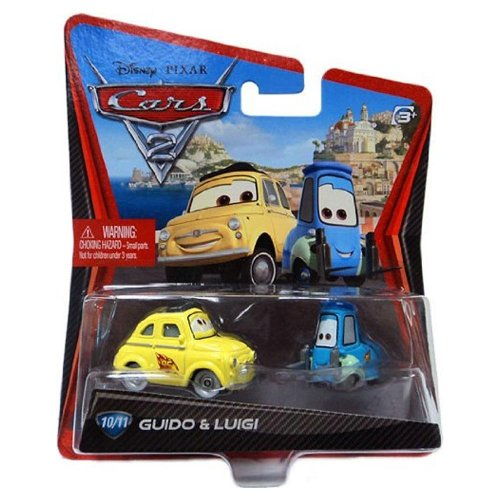 Mattel Cars 2Hot Wheels 10/11Racing Team Luigi And Guido 6644F [Disney Cars2Die Cast Toy Import US] (Japan Import)